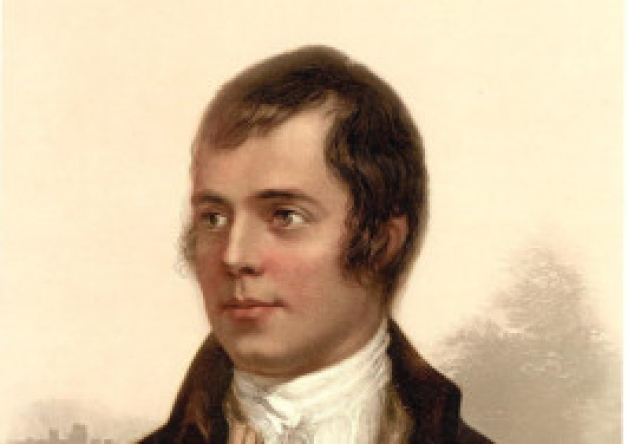 "Burns song ""written on office stationery"" saved"